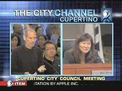 Steve Jobs Addresses Cupertino City Council for a New Campus