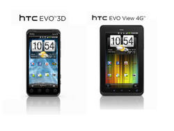 Sprint Announces HTC EVO 3D, View 4G for June 24 Release