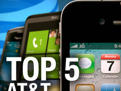 Top 5 Phones for AT&T