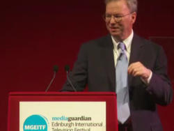 """Google's Eric Schmidt to Broadcasters: """"Ignore The Internet At Your Peril"""""""