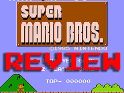 Retro Game REVIEWS: Super Mario Bros. For NES