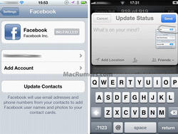 Here's What Facebook Integration Would Look Like in iOS 5, But Will It Ever Arrive?
