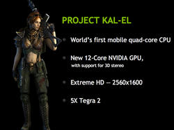 NVIDIA Kal-El Processor Has Secret 5th Core, Say Whitepapers