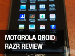 Droid Razr review: The Best Android Phone? (video)