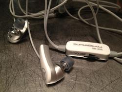 "SuperBeam Earbuds Record and Playback ""3D"" Audio review"