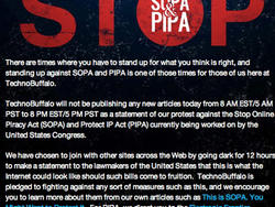 The Day of Blackouts: Thousands of Sites Protest SOPA by Going Dark (poll)