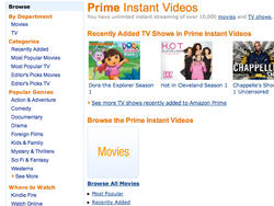 Amazon Prime Instant Videos Come to the PlayStation 3