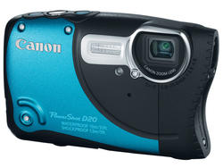 Rugged Canon PowerShot D20 Begs For Abuse In 1080p
