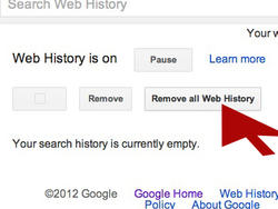 Clear Your Google Web History Before 3/1, Here's How