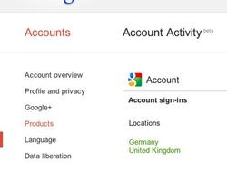 Google Launches Account Activity, So You Can Monitor… er, Yourself