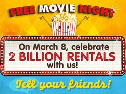 Redbox Celebrates 2 Billion Rentals with Free Movies