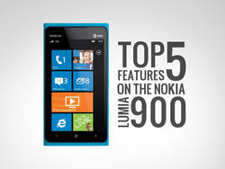 Top 5 Features of AT&T's Nokia Lumia 900