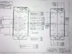 Purported iPhone 5 Schematic Leaks Showing a Larger Screen