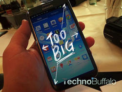 Galaxy Note II: Bigger, Faster, Stronger, Ridiculous
