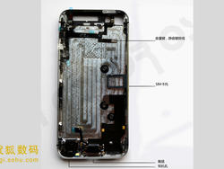 iPhone 5 Photos Show Off Partially Assembled Device and Size Comparisons