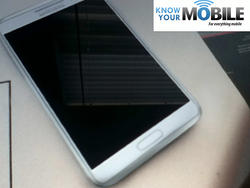 Alleged Samsung Galaxy Note II Gets Snapped in the Wild (Update: Maybe Not)