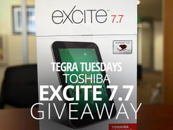 Tegra Tuesday Giveaway: 16GB Toshiba Excite 7.7! (International)