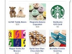 Facebook Gifts: New Tool Lets You Buy Real Gifts For Friends