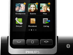 Phillips S10: Cordless Phone Disguises Itself As Smartphone