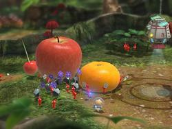 Pikmin 3 Moving Wii Us in Japan