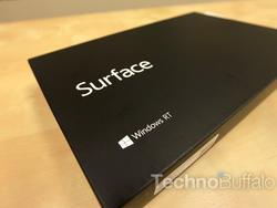Microsoft Surface With Windows RT Unboxing: Touching the Future of Microsoft (Video)