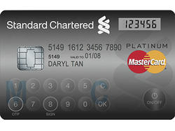 MasterCard Introduces Credit Card with Embedded LCD, Touch Input Pad