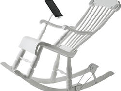 Rock On: iRock Chair Charges Your iPad With Kinetic Energy