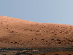 Panorama Snapped By Curiosity Rover Shows Immense Mars Mountain