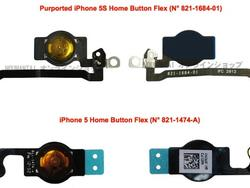 iPhone 5S Home Button Has Fingerprint Scanner, Looks Similar, Report Says