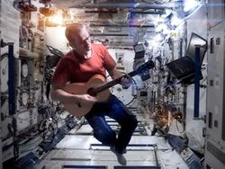 "Astronaut Performs David Bowie's ""Space Oddity"" From Actual Space"