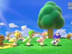 Super Mario 3D World Announced by Nintendo for Wii U