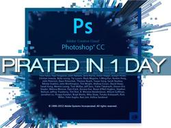 Cracked With a Vengeance: Photoshop CC Pirated In One Day