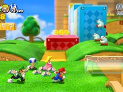 Super Mario 3D World Hands-on Preview - It's-a Him!
