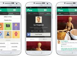 Vine Android App adds Front-Facing Camera for Video Selfies