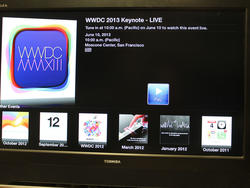 WWDC 2013 Keynote to Live Stream on Apple TV (UPDATED)