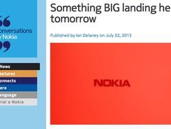 "Nokia Teases ""BIG"" Announcement Coming Tomorrow"