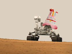NASA Pings Curiosity With Instructions to Sing Itself Happy Birthday