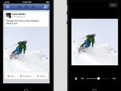 Facebook Introducing Autoplay to Videos In Your News Feed