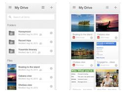 Google Drive for iPhone and iPad Gets Card UI Update