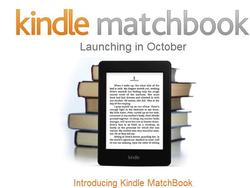 Kindle MatchBook Offers Cheap eBook Versions of Print Books