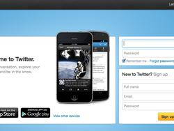 Twitter Redesigns its Welcome Page to Emphasize Mobile