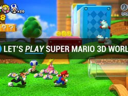 Let's Play Super Mario 3D World - Here We Go!