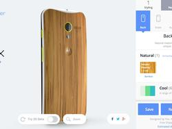 Bamboo Moto X Now Available Through Moto Maker for $100 Extra