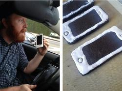 Man Gets Pulled Over for Eating iPhone Shaped Cookies While Driving