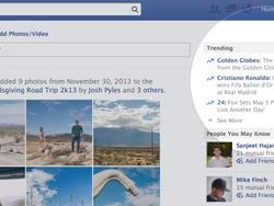 Facebook Adds Personalized Trending Section to Your News Feed