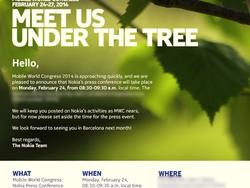 Nokia Sends Out Invitations for MWC Event on Feb. 24