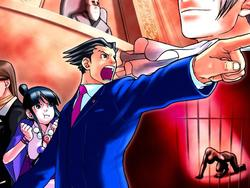 Phoenix Wright Trilogy Comparison Shots Greatly Improved on 3DS
