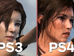 Tomb Raider Definitive Edition Side by Side with Original