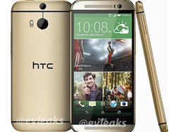 All New HTC One Shows Up in Gold in Leaked Image