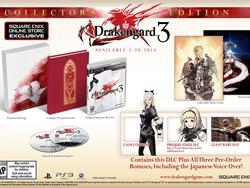 Drakengard 3 Dated For May 20th, Collector's Edition Revealed